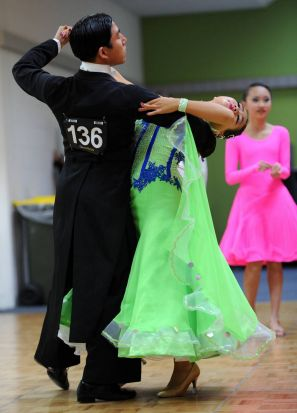 National Capital Dancesport Championship at the AIS Arena.