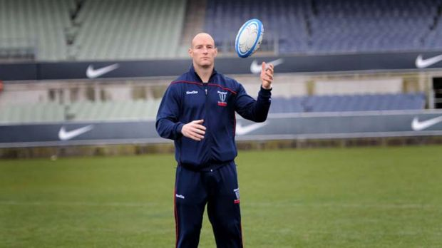 Retiring Rebels skipper Stirling Mortlock.