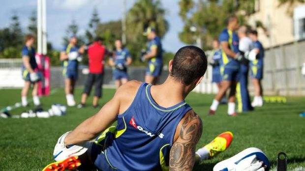 Dealing with uncertainty … Quade Cooper.