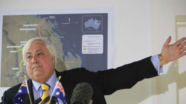 """""""Disgraceful"""" internal conflicts ... Clive Palmer on the Liberal Party."""
