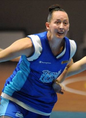 Canberra guard Michelle Cosier wants her future secured.