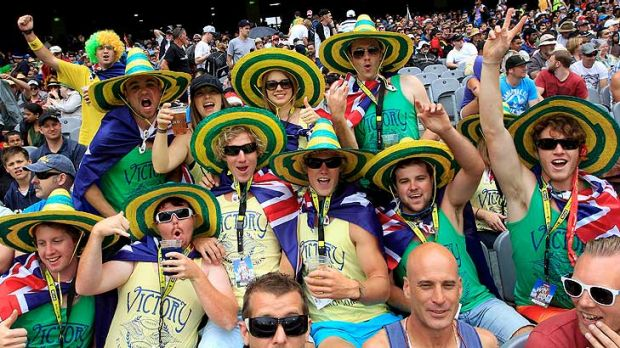 'The Great Unwashed' ... Australia's visit to Lord's today is a sell-out.
