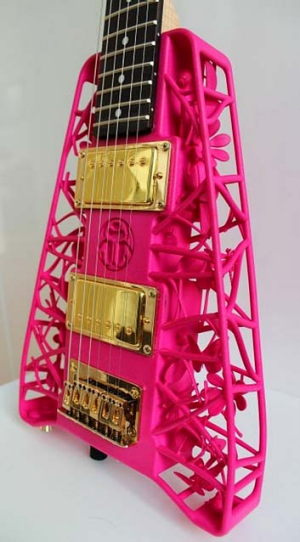 3d printing revolutionises the guitar. Black Bedroom Furniture Sets. Home Design Ideas