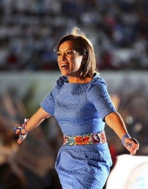 Josefina Vazquez Mota, presidential candidate from the ruling National Action Party.