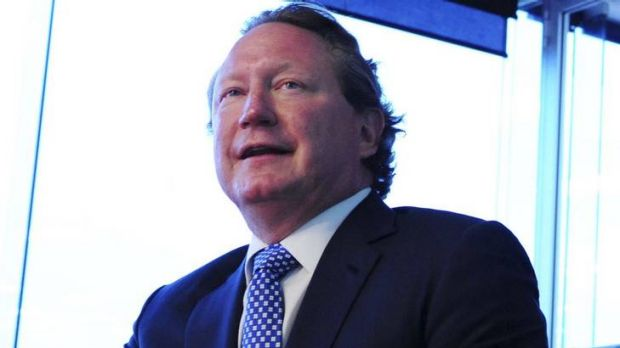 Andrew Forrest: More than a billion shares.