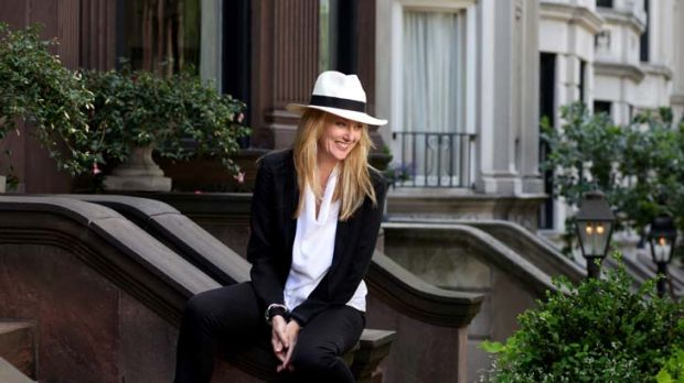 Anna Funder in New York.