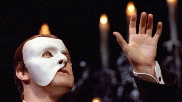 Anthony Warlow in Phantom of the Opera.