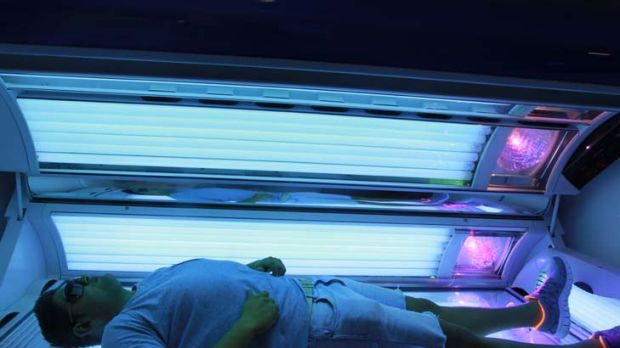 DIY danger ... sunbeds need to be properly maintained or they could start emitting more radiation than they should, ...