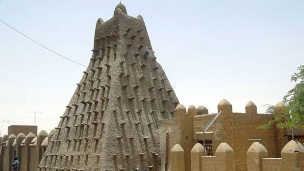 A file picture of a mosque in Timbuktu.