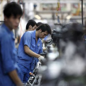 China's economy grew an annual 8.1 per cent in the first quarter of 2012 - its slowest rate in nearly three years.