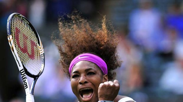 Serena Williams was relieved to get the jump on Zheng Jie after a near 2½ hour battle.