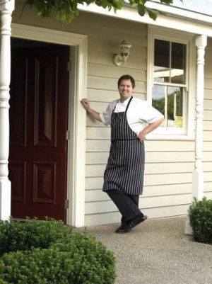 Matt Dempsey, chef and owner of Gladioli in Inverleigh.