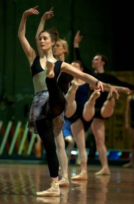 Dancers from the Australian Ballet perform.
