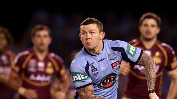 Under pressure ...Todd Carney of the Blues.