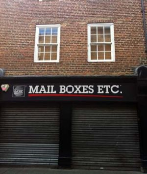 John Edgar's ye olde PO Box in Newcastle