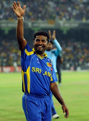 The Melbourne Rebels are favourites to secure the services of Sri Lankan icon Muthiah Muralidaran.