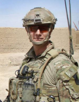 Sergeant Blaine Diddams was killed during an engagement with insurgents in the Chorah district of Uruzgan province on  ...