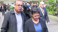 Shirley and Vijay Singh leave the Brisbane supreme court after Max Sica is sentenced to a minimum 35 years in jail for ...