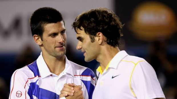 Novak Djokovic and Roger Federer have never met on a grass court.