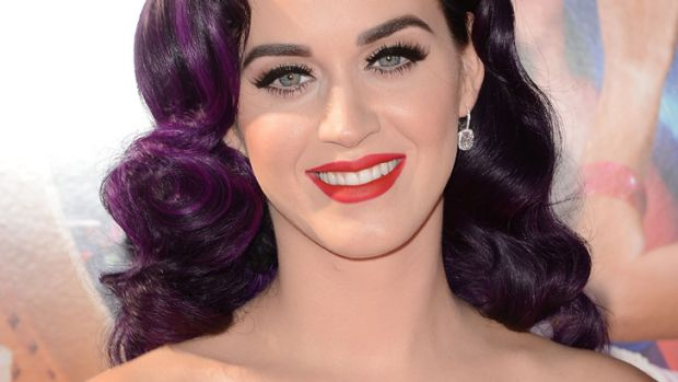 Striving for authenticity ... Katy Perry.