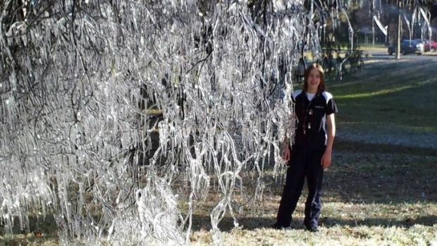 Reader Peter Richens took this photo on the way to work on Wednesday, at Telopea Park. The tree has turned into icicles. ...
