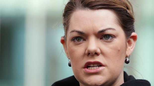 Greens senator Sarah Hanson-Young has come out swinging against Labor, accusing the party of not having values.