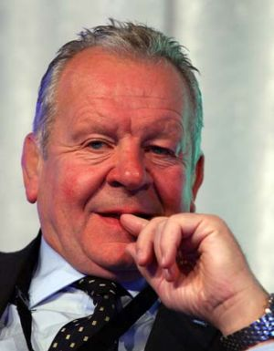 In the hot seat ... Bill Beaumont.