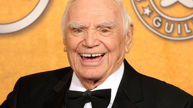 Ernest Borgnine at the 17th Annual Screen Actors Guild Awards in 2011.
