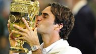 Federer claims seventh Wimbledon crown (Video Thumbnail)