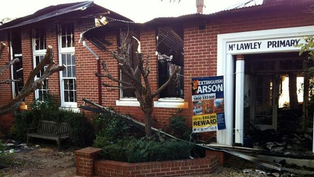 The historic building was significantly damaged.