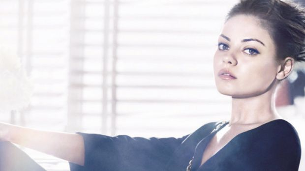 Model proportions ... Mila Kunis features in Dior's new ad campaign.