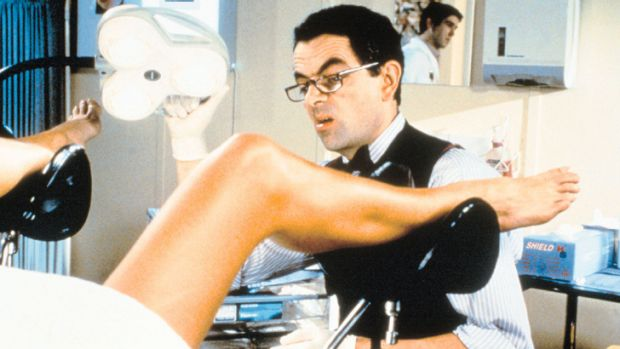 No laughing matter ... Rowan Atkinson aside, pap tests are easy and painless.