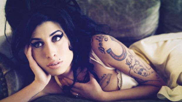 From sinner to saint? ... Amy Winehouse.