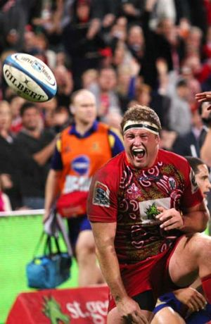 Finals dreaming ... a perfect win over the Waratahs may still not be enough to get the Reds to the finals.
