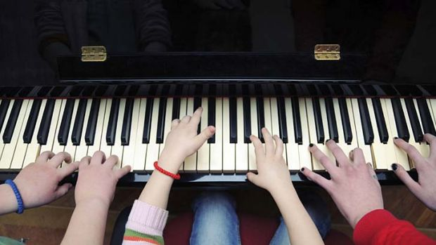 Creative industries ... music will be included in the national school curriculum up to year 10.
