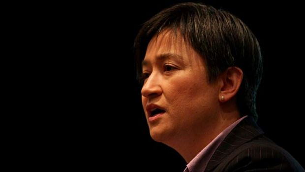 Greens ''cannot deliver'' … Penny Wong.