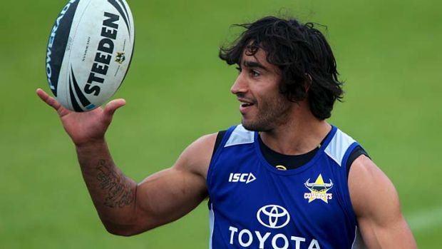 Cashed-up Cowboy ... Johnathan Thurston is set to benefit from the new salary cap.