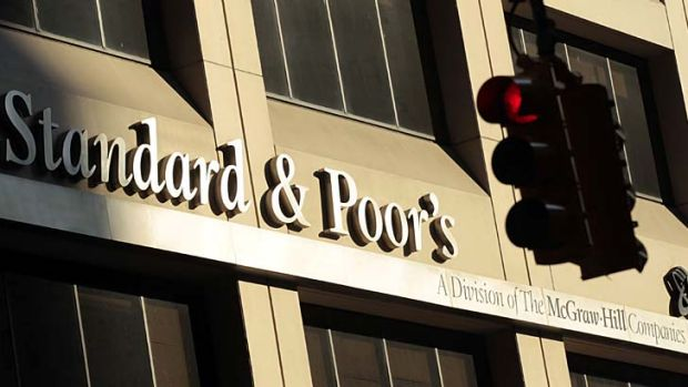 On top … S&P is one of the three big ratings companies.