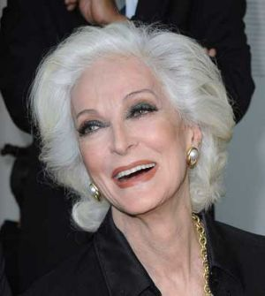 Carmen Dell'Orefice, arguably the most famous old supermodel, is 81.