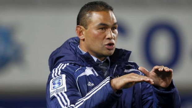 Blues coach Pat Lam is under pressure to keep his job ahead of his side's clash against the Brumbies.