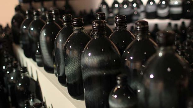 The serpentine bottles of Liu Zhuoquan's <em>Where are you?</em>