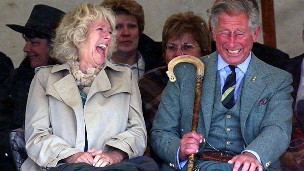 Palace coup … Camilla Parker-Bowles is the first royal mistress to marry her lover, Prince Charles.