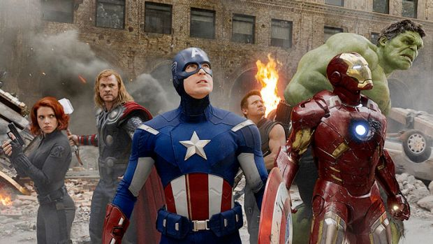 <i>The Avengers</i> was a hit in cinemas, where it screened in 3D.