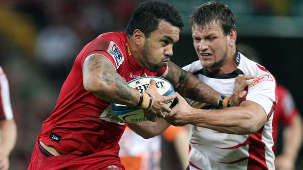 Queensland Reds winger Digby Ioane.
