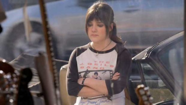 Reason to look glum? Madeleine Martin (Becca) from <i>Californication</i> - just one of the characters studied in an ...
