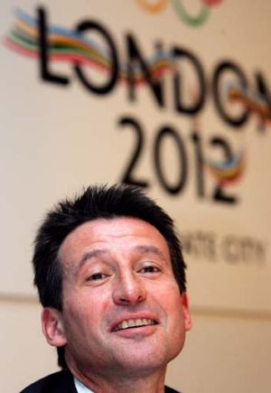Seb Coe, satisfied with Dow.