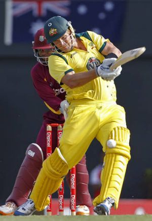 Missing: Shane Watson is out with a calf injury.