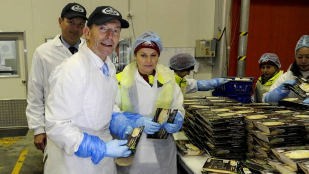 Tony Abbott: 'What I want to see is higher wages and more jobs.'