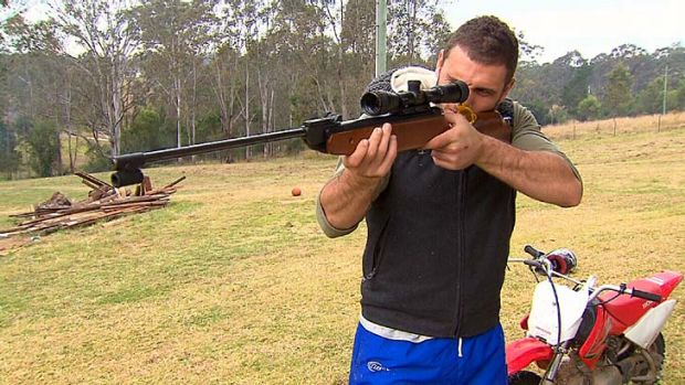 Getaway … Robbie Farah takes time out at Greendale.