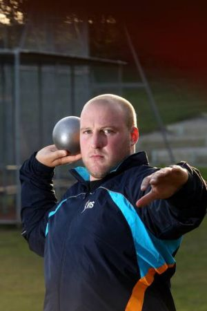 Shot putter Dale Stevenson: I tend to eat three or four times a normal person to maintain the extra weight.